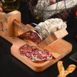 Poaka Salami and Dry cured meats slicer
