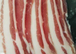 oaka dry cured streaky bacon